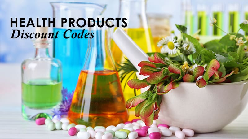 Health Product Discount Codes